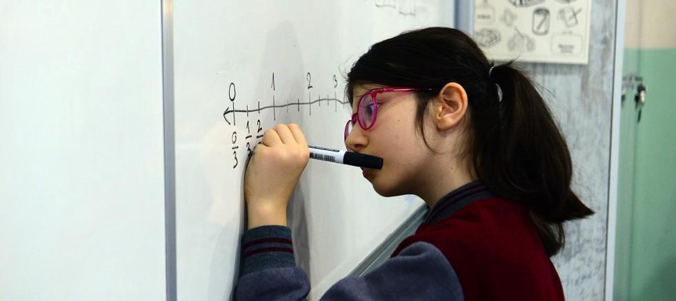 10 yaşında matematik şampiyonu
