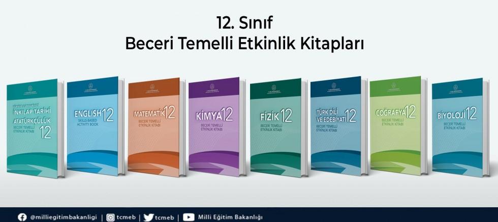 12. Sınıf öğrencilerine yönelik etkinlik kitapları