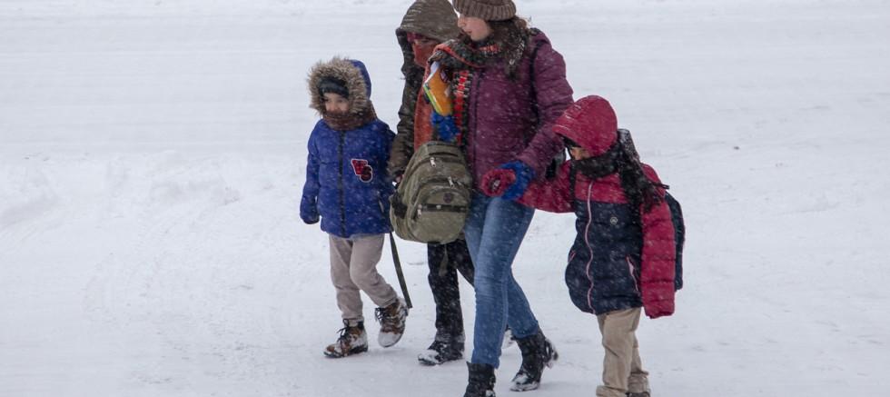 2 ilde eğitime kar tatili