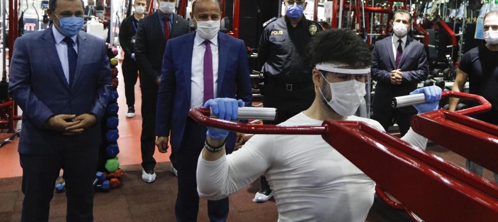 Ankara'da yoğun koronavirüs denetimi