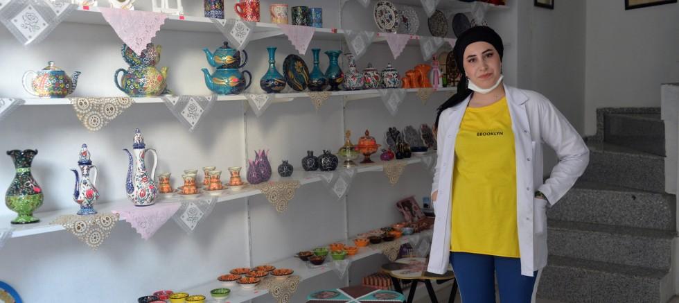 Bingöl'de çocuklar için ücretsiz sanat evi açtı