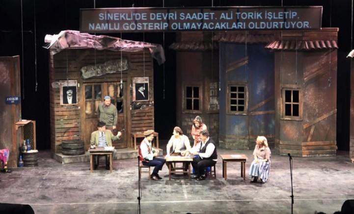 Bursa Devlet Tiyatrosu açık havada perde açtı