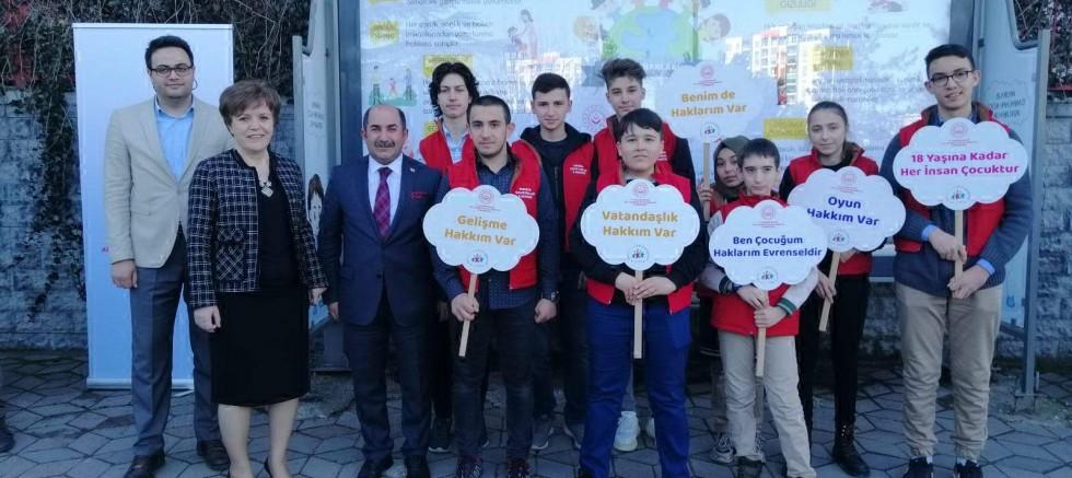 'Çocuk Hakları Durağı' açıldı