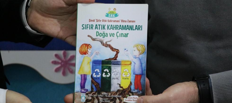 Çocuklara 'sıfır atık' kitabı