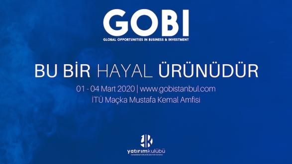 GOBI 20, 1-4 Mart'ta İTÜ'de