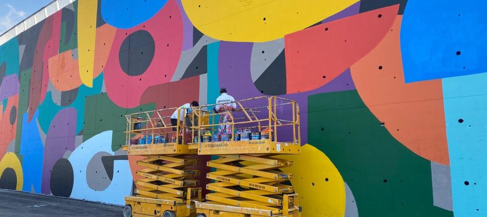 İBB'nin konuşan duvarlar projesi devam ediyor