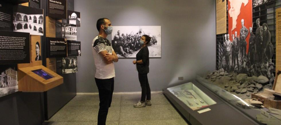 Kayseri'de müzeler kapılarını yeniden açtı