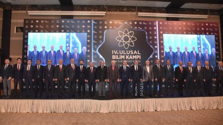 Konya'da bilim kampı
