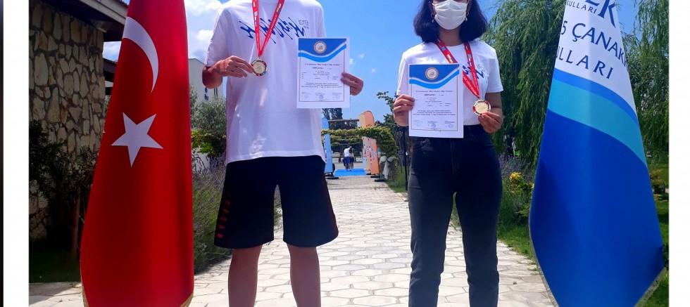 Matematik Olimpiyatında altın madalya aldılar
