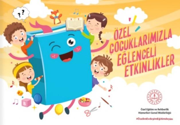 MEB'den özel çocuklara eğlenceli etkinlikler