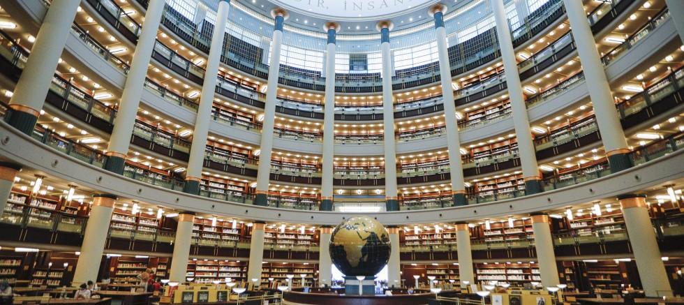 Salgın döneminde Millet Kütüphanesi'ne ilgi