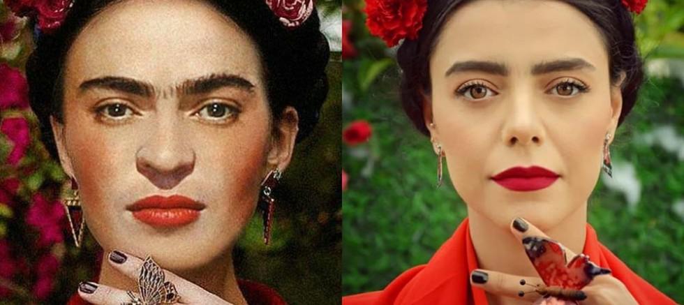 Samsun'da 'online' resim sergisi