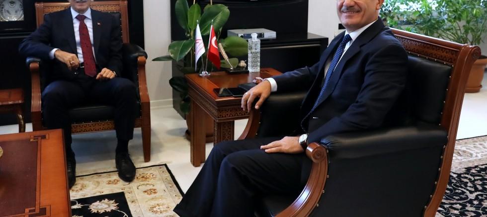 Savunma sanayi bakanından YÖK başkanına ziyaret