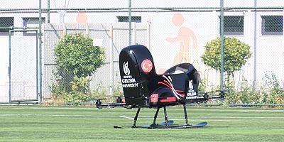 Uçan araba 'Tusi'nin test sürüşlerine başlandı