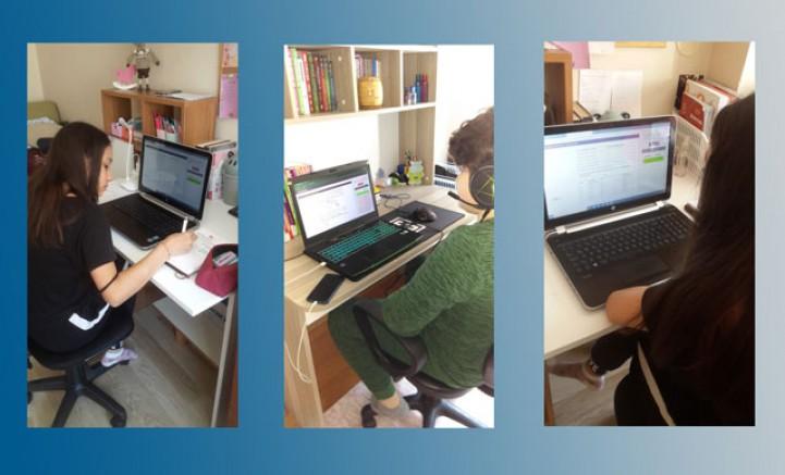 Türkiye genelinde online sınav